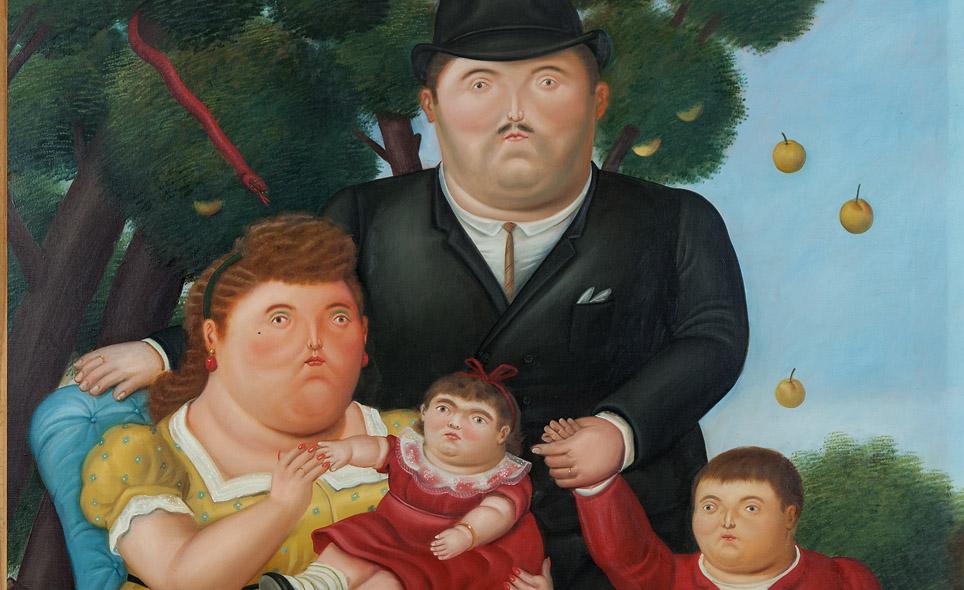 Botero Y Una Familia Perfecta Ecos Online